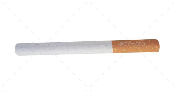 cigarette isolated - Stock Photo - Images