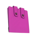 Pink wallet isolated