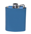 old flask for alcohol isolated