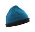 blue woolen winter hat isolated