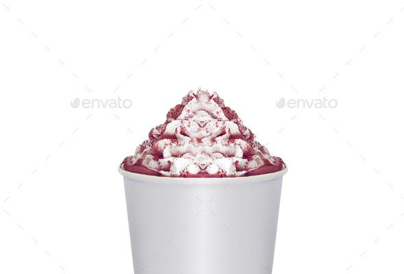 Ice Cream isolated - Stock Photo - Images