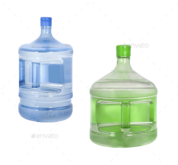 Big bottles of water - Stock Photo - Images