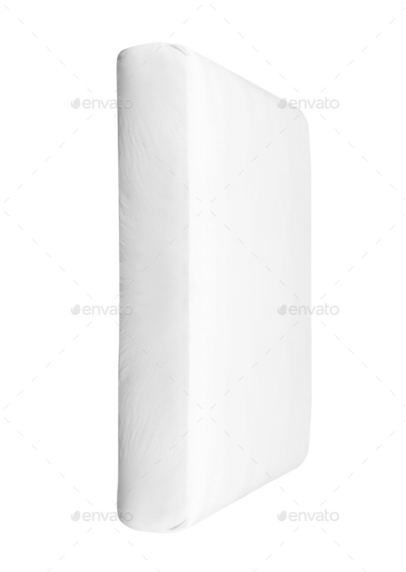 pillow on white background - Stock Photo - Images