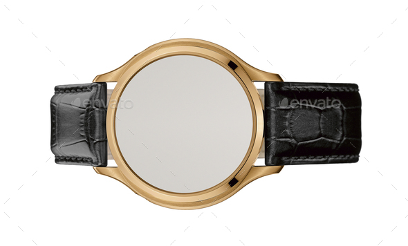modern watch isolated - Stock Photo - Images