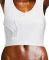 Woman's torso with shirt close up