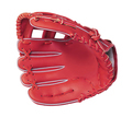 leather baseball glove isolated
