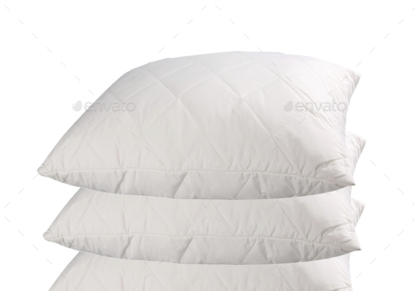 pillows isolated - Stock Photo - Images