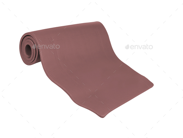 mat for sports isolated - Stock Photo - Images