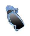 ski snowboard goggles isolated