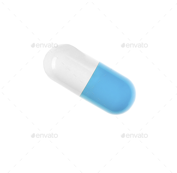 pill isolated - Stock Photo - Images