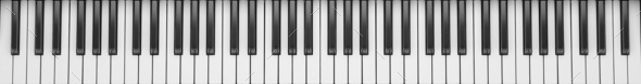 Dark Gray Synthesizer close up - Stock Photo - Images
