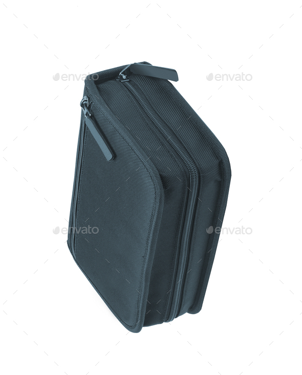 pencil-case isolated - Stock Photo - Images