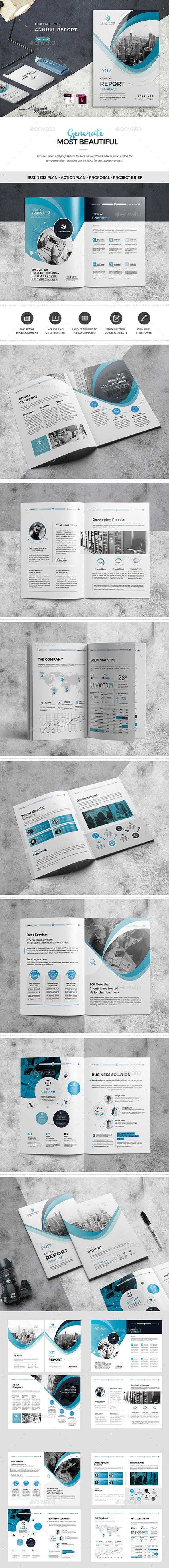 GraphicRiver Annual Report Template 20840239
