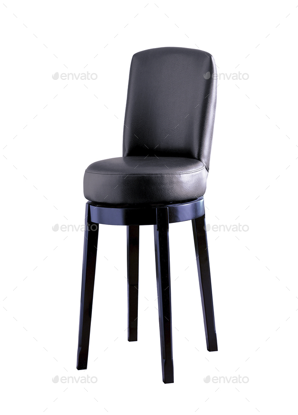 Bar chair isolated - Stock Photo - Images