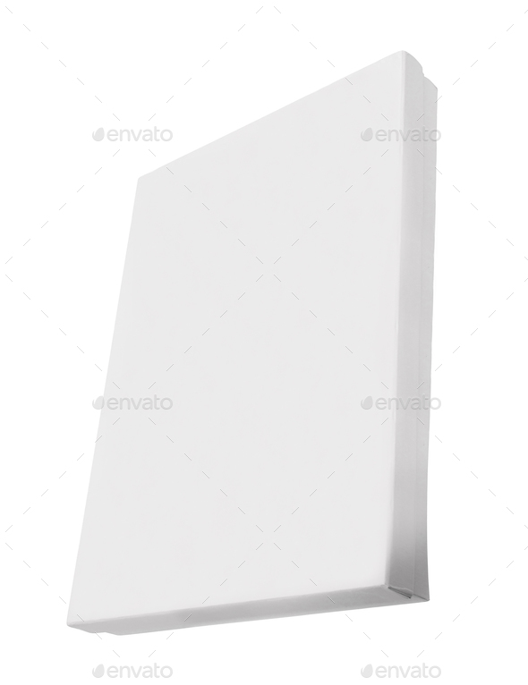 Blank box isolated - Stock Photo - Images