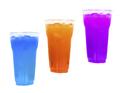 Three cocktails on white
