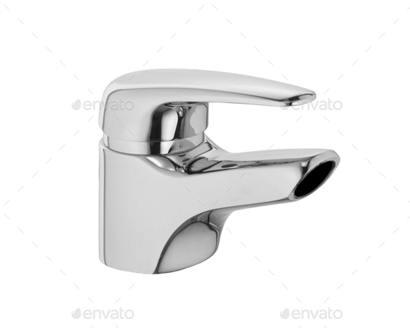 faucet isolated - Stock Photo - Images