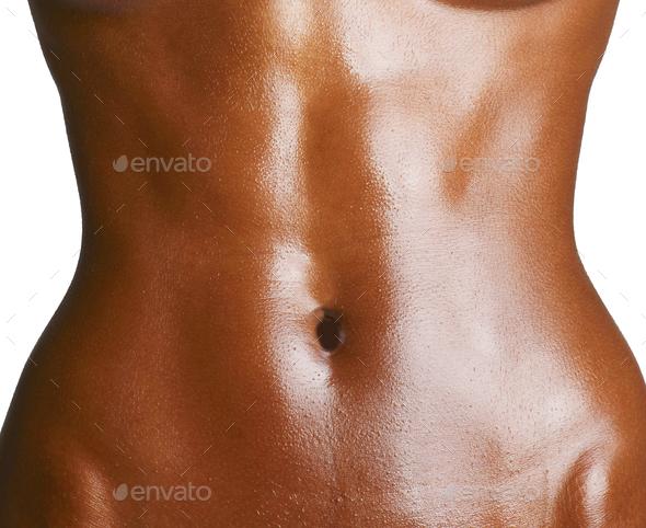 Woman's torso - Stock Photo - Images