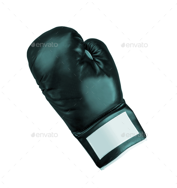 boxing glove isolated - Stock Photo - Images