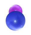fitballs isolated
