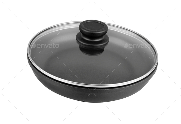 pan isolated on white - Stock Photo - Images