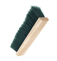 black shoe brush isolated