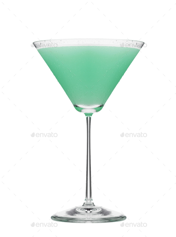 Cosmopolitan cocktail isolated - Stock Photo - Images