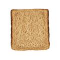 Bread slice isolated