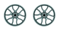 wheels disc isolated