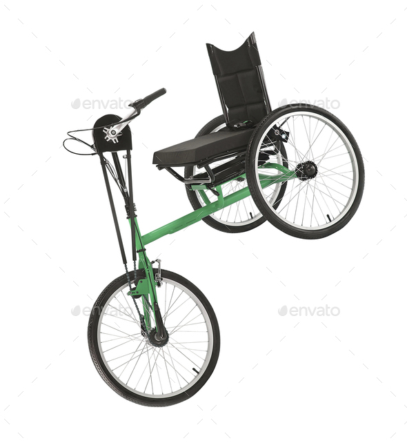 Tricycle isolated - Stock Photo - Images