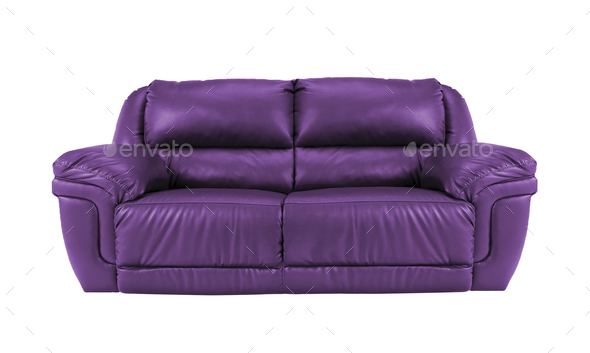 sofa isolated - Stock Photo - Images