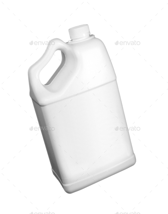 White gallon isolated - Stock Photo - Images