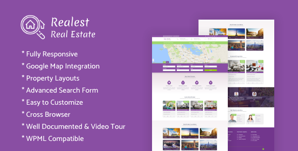 Realest – Real Estate WordPress Theme - Real Estate WordPress
