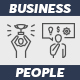 40 Business People Icon - GraphicRiver Item for Sale