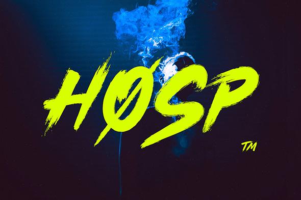 Hosp Script - Calligraphy Script