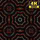 4K Sci-fi Futuristic Animated Kaleidoscope Pattern 1 - VideoHive Item for Sale