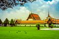 Bangkok luxurious royal palace and garden, Thailand