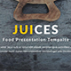 Juices Food Multipurpose PowerPoint Template
