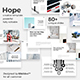 Hope Creative Powerpoint Template - GraphicRiver Item for Sale