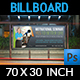 Seminar Billboard Template - GraphicRiver Item for Sale