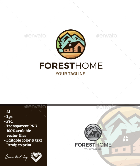 GraphicRiver Forest Home 20841181