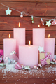 Candles and christmas decorations - PhotoDune Item for Sale