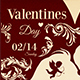 Valentines Day Menu Template V6 - GraphicRiver Item for Sale