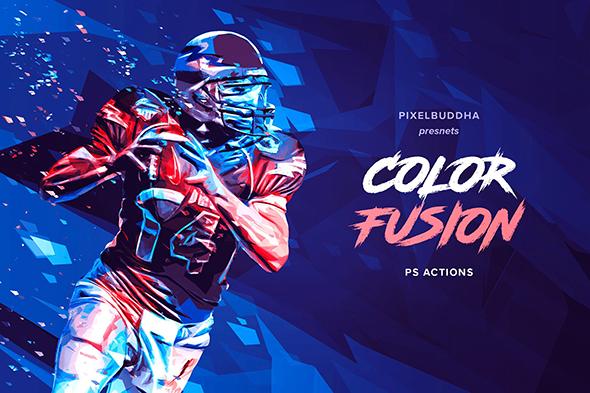 GraphicRiver Color Fusion Photoshop Actions 20800711