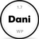 Dani - A Storming Portfolio & Shop WordPress Theme - ThemeForest Item for Sale