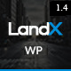 LandX - Multipurpose  Wordpress Landing Page
