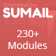 SUMAIL - Responsive Email Template (230+ Modules) + Stampready Builder