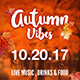 Autumn Vibes Flyer Template - GraphicRiver Item for Sale