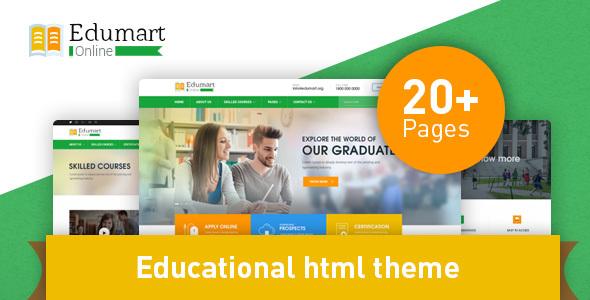 Image of Edumart - Education Template