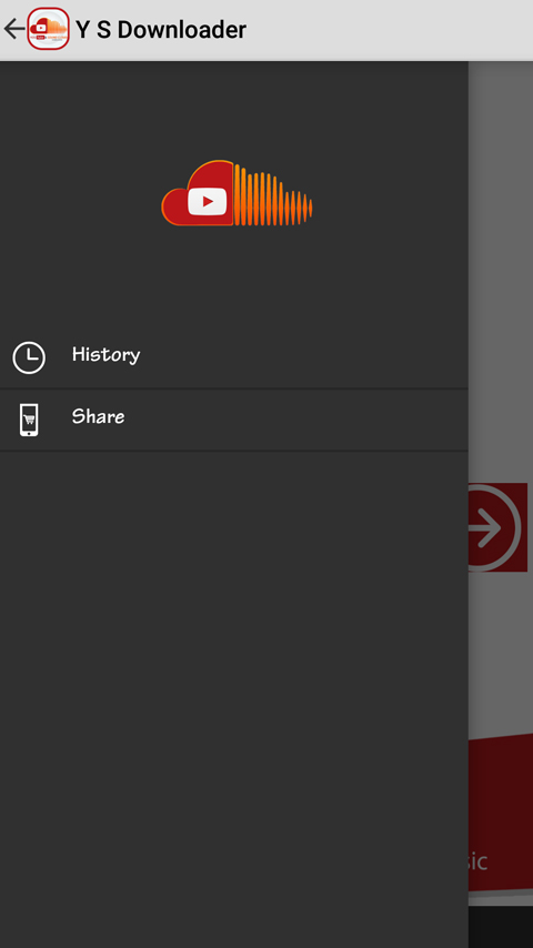 YouTube and Soundcloud Music Downloader Android Admob Ads